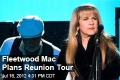 Fleetwood Mac Plans Reunion Tour