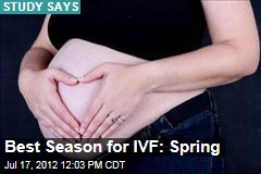 Best Season for IVF: Spring