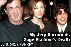 Mystery Surrounds Sage Stallone&amp;#39;s Death