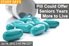 Pill Could Offer Seniors Years More to Live