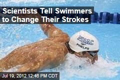 Scientists Tell Swimmers to Change Their Strokes