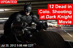 20 Hurt in Colo. Shooting at Dark Knight Movie
