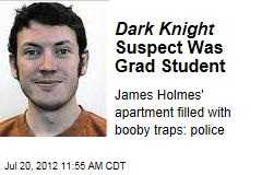 Dark Knight Suspect Was Grad Student