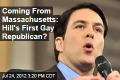 Coming From Massachusetts: Hill&amp;#39;s First Gay Republican?