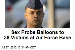 Sex Probe Balloons to 38 Victims at Air Force Base
