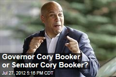 Governor Cory Booker or Senator Cory Booker?