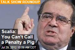 Scalia: You Can't Call a Penalty a Pig