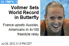 Vollmer Sets 2nd World Record at the Games