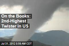 On the Books: 2nd-Highest Twister in US