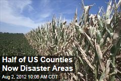 Half of US Counties Now Disaster Areas