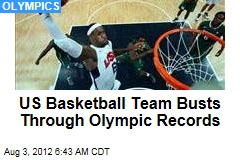 US Basketball Team Busts Through Olympic Records