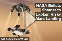 NASA Enlists Shatner to Explain Risky Mars Landing