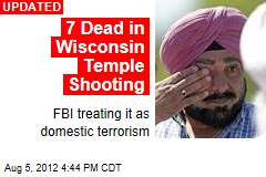 4 Dead in Wisconsin Temple Shooting