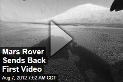 Mars Rover Sends Back First Video, Pics