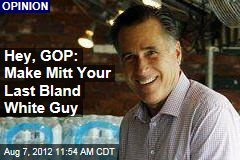 Hey, GOP: Make Mitt Your Last Bland White Guy