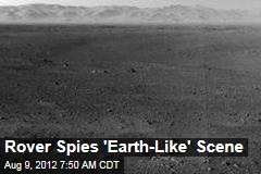 Rover Spies &amp;#39;Earth-Like&amp;#39; Scene