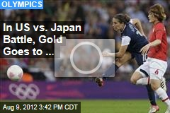 Women Go for Gold Against Japan