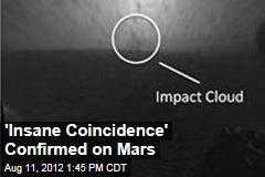 'Insane Coincidence' Confirmed on Mars