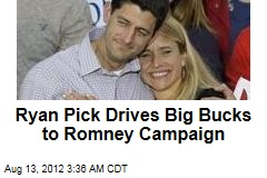 Ryan Pick Juices Up Romney Campaign