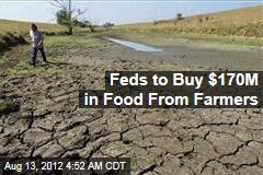 Feds to Buy $170M in Food From Farmers for Drought Aid