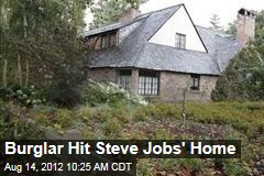 Burglar Hit Steve Jobs' Home