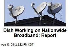 Dish Working on Nationwide Broadband: Report