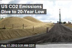 US CO2 Emissions Dive to 20-Year Low