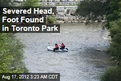 Severed Head, Foot Found in Toronto Park