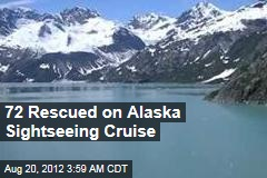 72 Rescued on Alaska Sightseeing Cruise