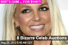 8 Bizarre Celeb Auctions