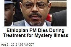 Ill Ethiopian PM Dies During Treatment Abroad