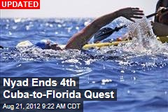 Storms Slow Nyad's Cuba-to-Florida Swim