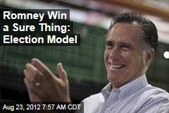 Romney Win a Sure Thing