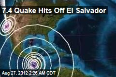 7.4 Quake Off El Salvador Triggers Tsunami Alert