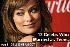 12 Celebs Who Married as Teens