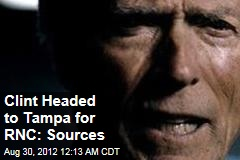 Clint Headed to Tampa for RNC: Sources