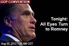 All Eyes Turn to Romney