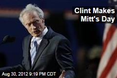 Clint Makes Mitt&amp;#39;s Day