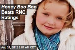 Honey Boo Boo Beats RNC Ratings