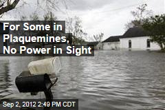 People Return to Swampy Louisiana, Battered Yet Again