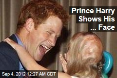 Prince Harry Shows His ... Face