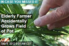 Elderly Farmer Accidentally Grows Field of Pot