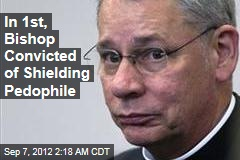 First Bishop Convicted of Shielding Pedophile