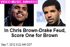 In Chris Brown-Drake Feud, Score One for Brown