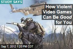 How Violent Video Games Can Be Good for You