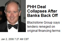 PHH Deal Collapses After Banks Back Off