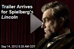Trailer Arrives for Spielberg's Lincoln