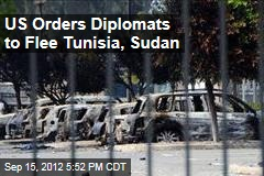 US Orders Diplomats to Flee Tunisia, Sudan