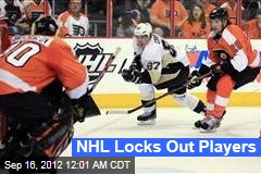 NHL Locks Out Players
