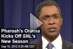 Pharoah&amp;#39;s Obama Kicks Off SNL&amp;#39;s New Season
